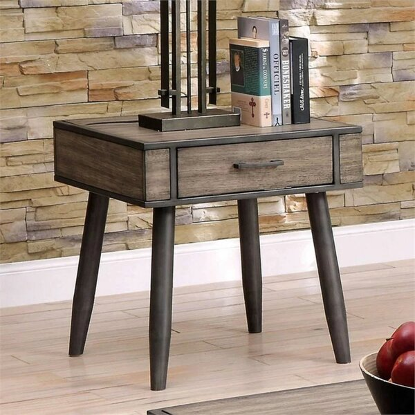 Lockesburg End Table With Storage By Corrigan Studio