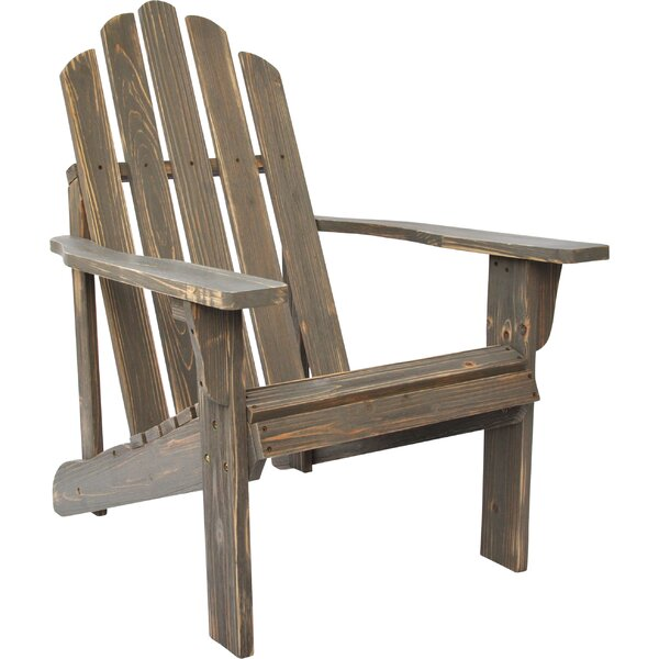 Wood Adirondack Chair by Shine Company Inc.