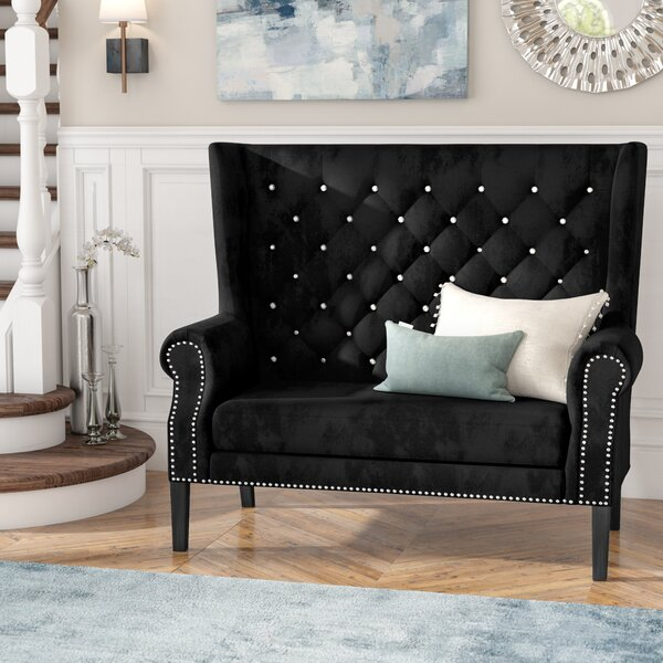 Sales-priced Colston Loveseat by Rosdorf Park by Rosdorf Park