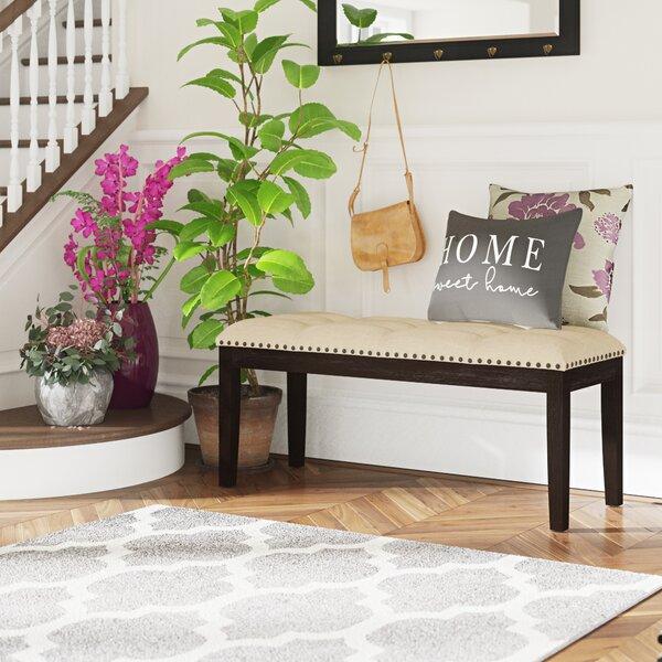 Hazel Upholstered Bench by Red Barrel Studio