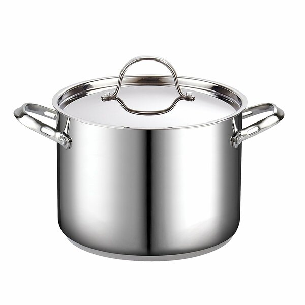 Classic Stainless Steel Stock Pot with Lid by Cooks Standard