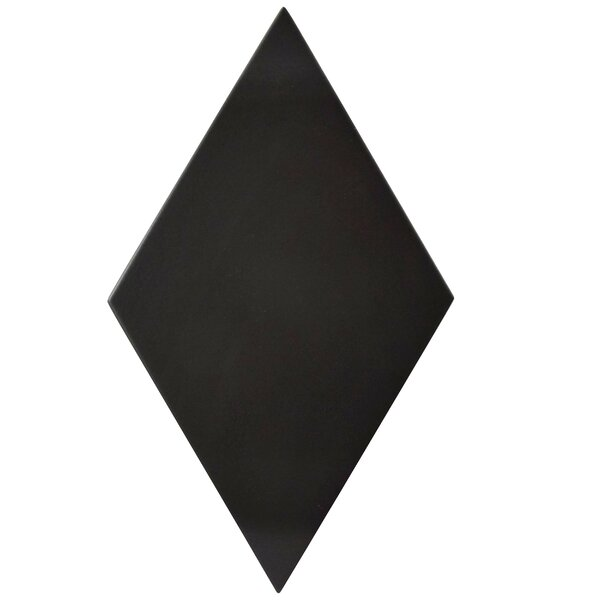 Ronbo 5.5 x 9.5 Porcelain Field Tile Tile in Black by EliteTile