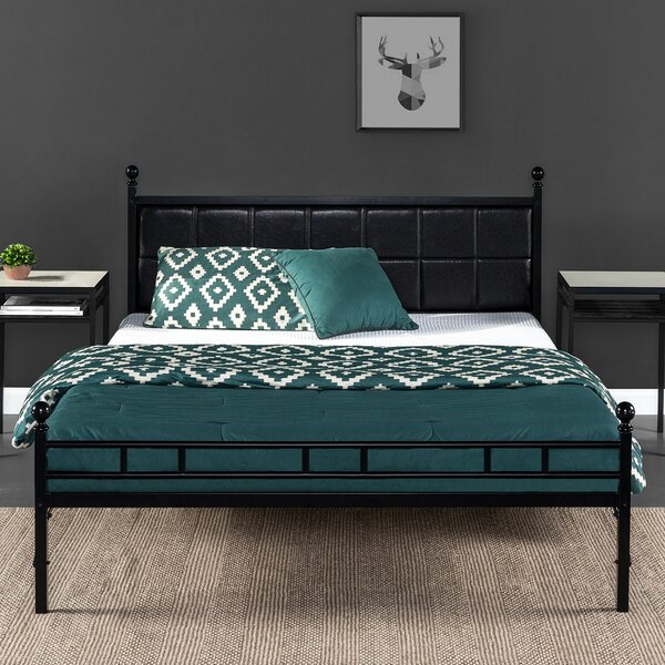 Mayne Upholstered Bed Frame by Latitude Run