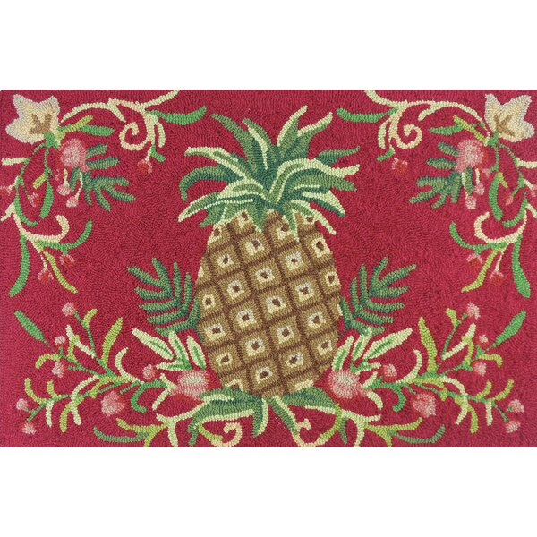 McIntosh Golden Pineapple Area Rug by Bay Isle Home
