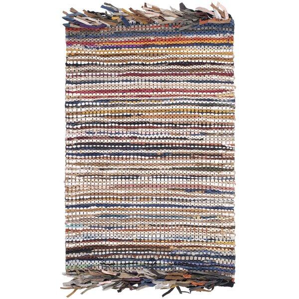Swayze Hand Tufted Blue/White Area Rug by Mistana