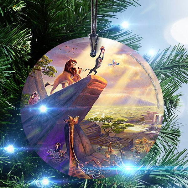 Disney (The Lion King) Hanging Shaped Ornament by Trend Setters