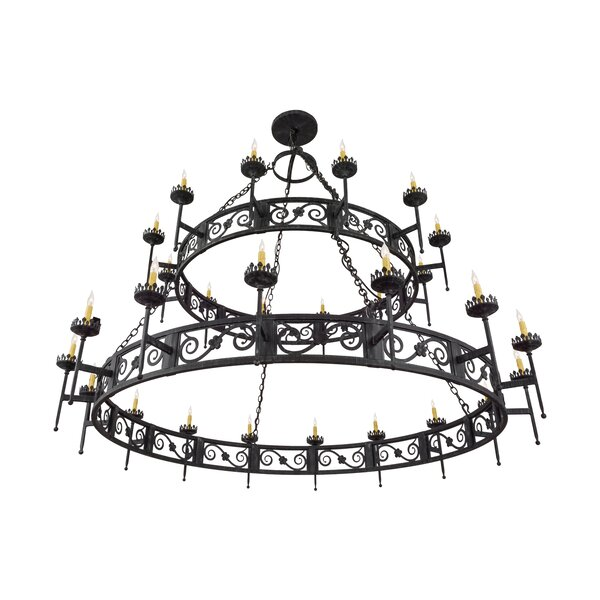 Shepshed 28 - Light Candle Style Chandelier by Astoria Grand Astoria Grand