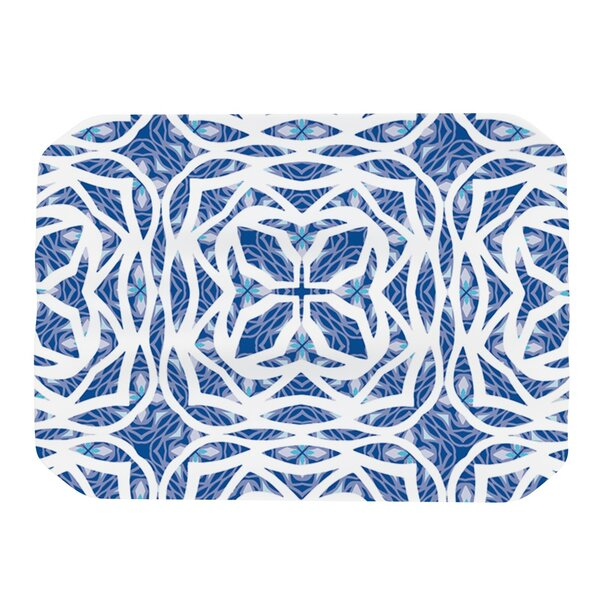 Blue Explosion Placemat by KESS InHouse