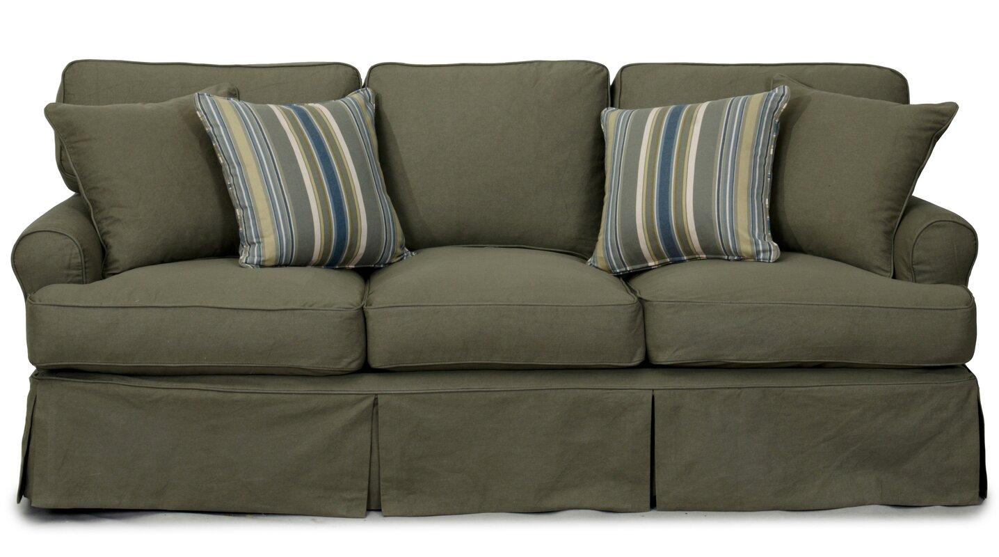 Slipcover T Cushion Sofa Uglysofa Tailored T Cushion