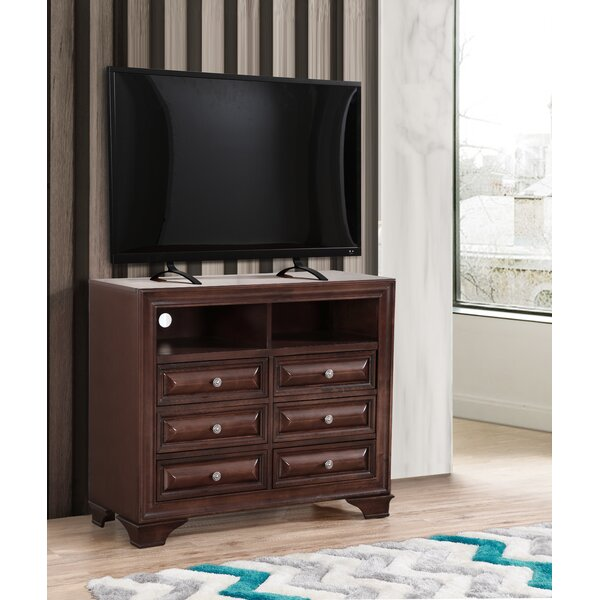 Home & Outdoor Edwardsville 6 Drawer Combo Dresser