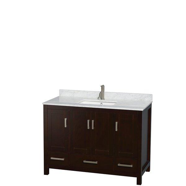 Sheffield 48 Single Bathroom Vanity Set by Wyndham Collection