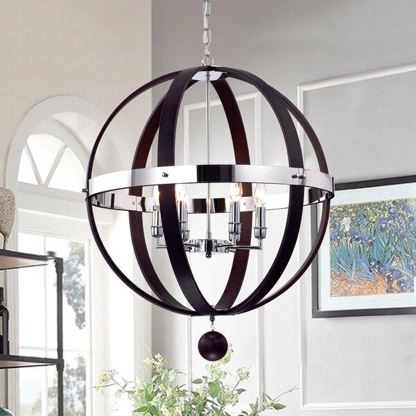 Minter 6-Light Candle Style Globe Chandelier By Gracie Oaks