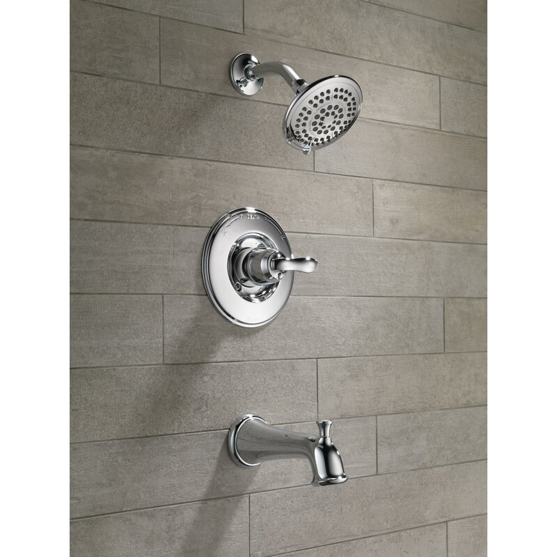 Linden™ Diverter Tub and Shower Faucet with Monitor