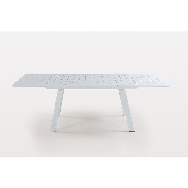 Mcroy Extendable Aluminum Dining Table by Latitude Run