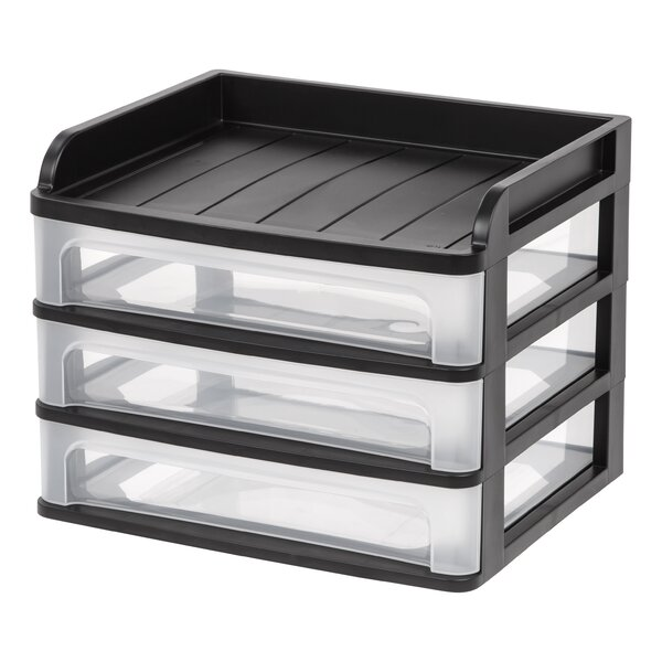 Desktop Drawer System (Set of 2) by IRIS USA, Inc.