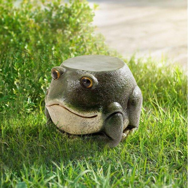 Rivas Frog Garden Stool by August Grove