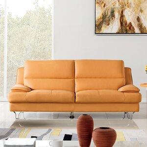 Harrison Leather Sofa by American Eagle International Trading Inc.