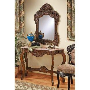 The Dordogne Console Table and Mirror Set  sc 1 st  Wayfair & Console Table Mirror Set | Wayfair
