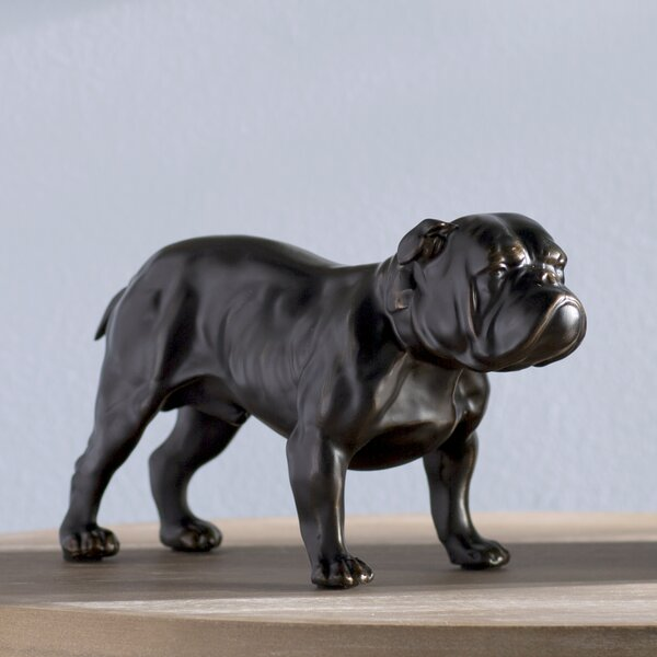 Hilderbrand Bulldog Figurine by Andover Mills