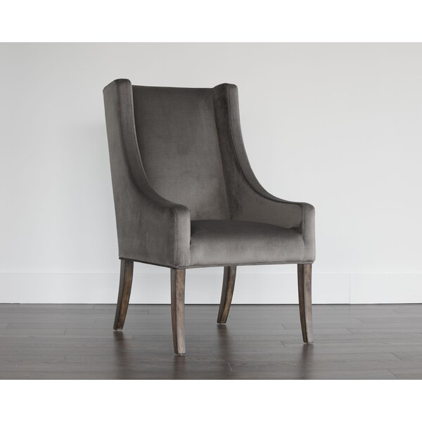 Irongate Aiden Upholstered Dining Chair by Sunpan Modern