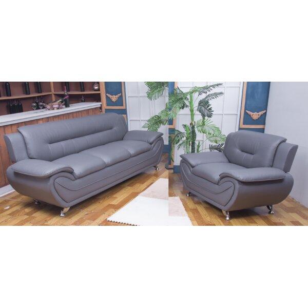 Gilreath 2 Piece Living Room Set by Orren Ellis