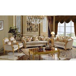 Cybulski Victorian 6 Piece Living Room Set by Rosdorf Park