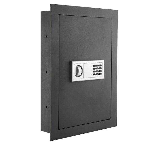 Flat Electronic Lock Wall Safe by Paragon Safe