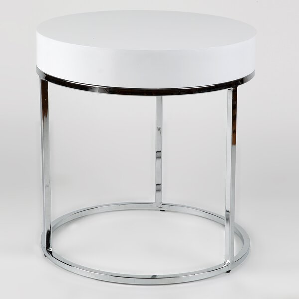 Mog Side Table by Whiteline Imports