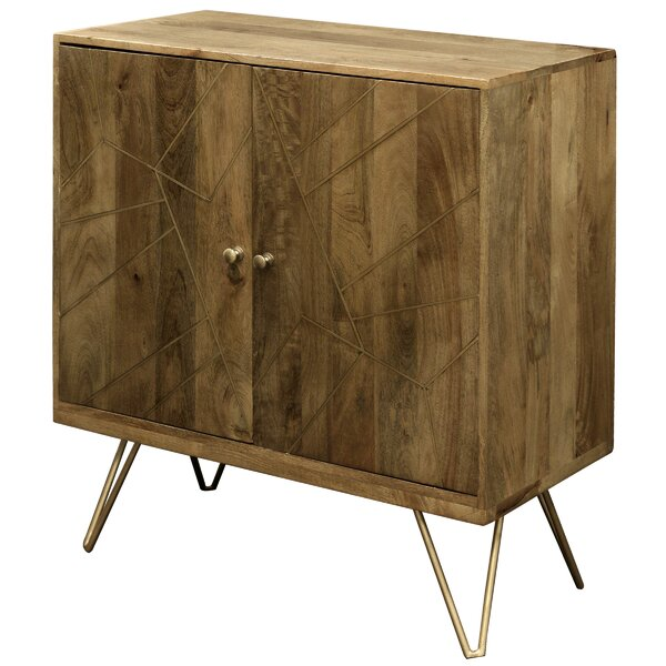 Damarion 2 Door Accent Cabinet by Union Rustic Union Rustic