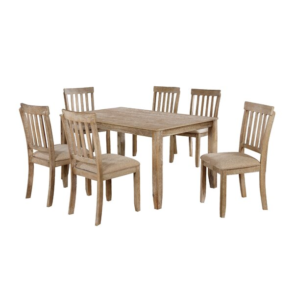 Javen 7 Piece Dining Set by Millwood Pines Millwood Pines