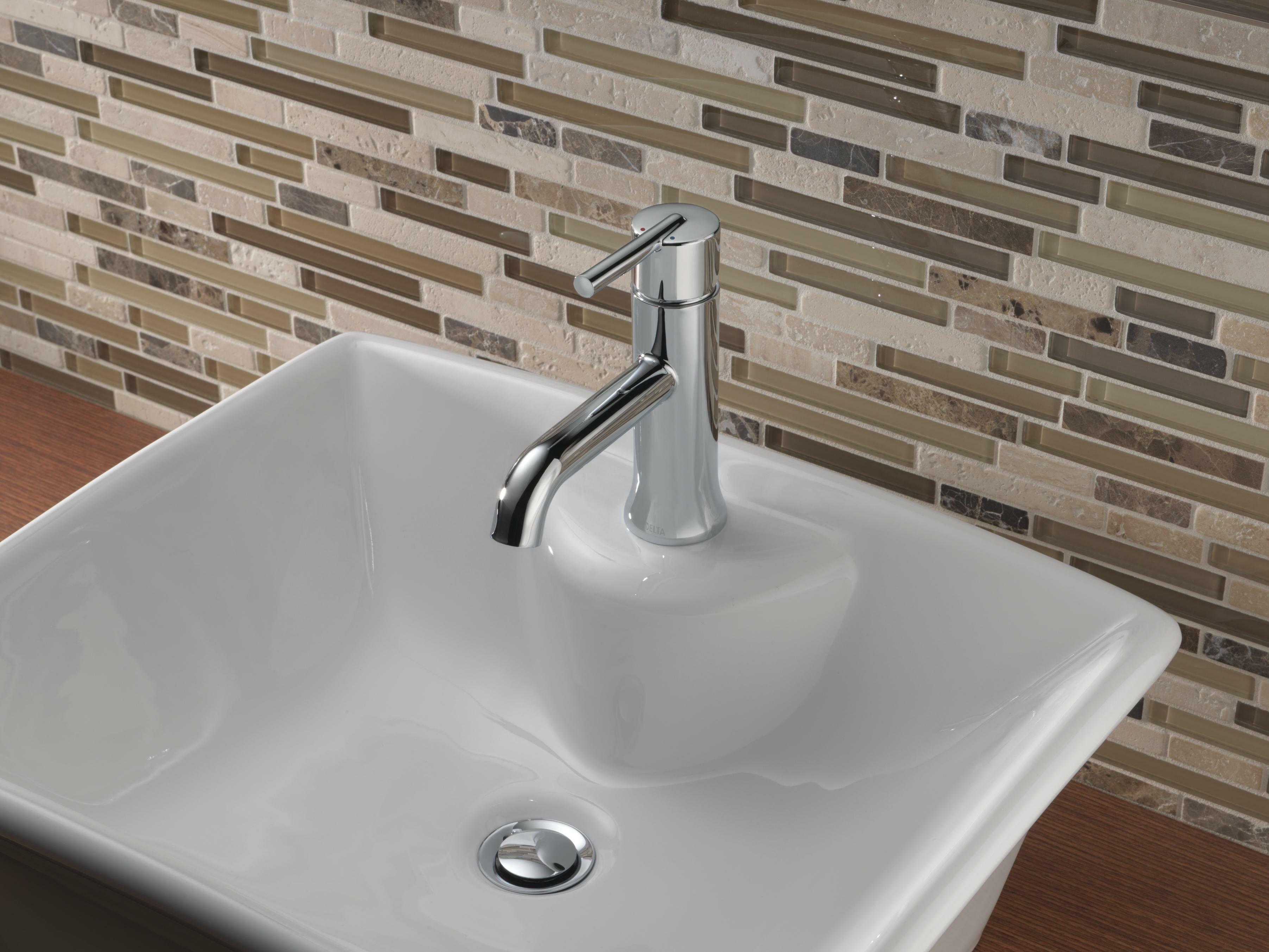 559lf Ssmpu Mpu Czmpu Delta Trinsic Single Hole Bathroom Faucet