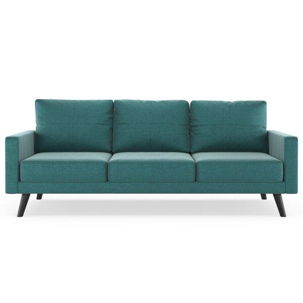 Cowden Mod Velvet Sofa by Corrigan Studio