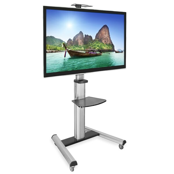 TV Cart Mobile Height Adjustable Floor Stand Mount 30-70 LCD/Plasma/LED by Mount-it