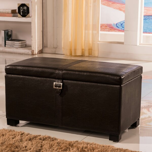 Royal Comfort Upholstered Storage Bench by Bellasario Collection