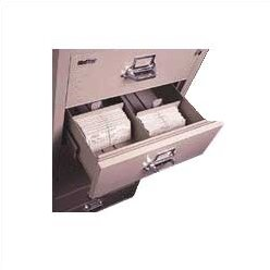 6-Section Lateral File Document Insert for 3 H x 5 W Cards by FireKing
