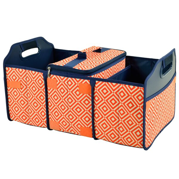 Diamond Trunk Organizer Cooler by Picnic at Ascot
