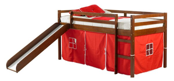 Ogden Tent Twin Low Loft Bed by Harriet Bee Harriet Bee