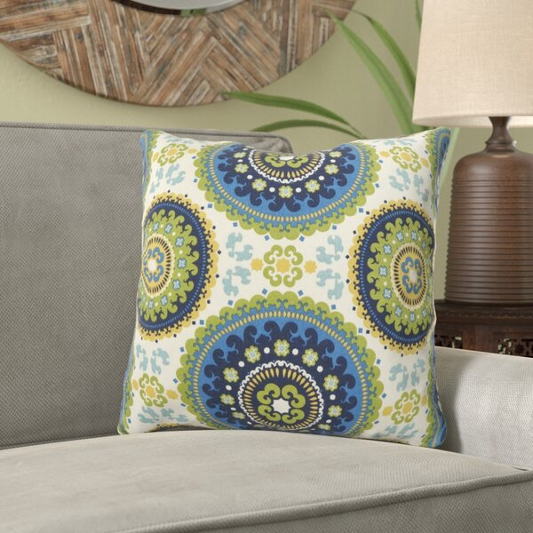 Maughan Kaleidoscope Throw Pillow by Bloomsbury Market