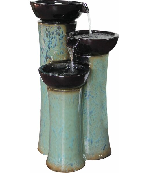 Ceramic Fountain by Alfresco Home