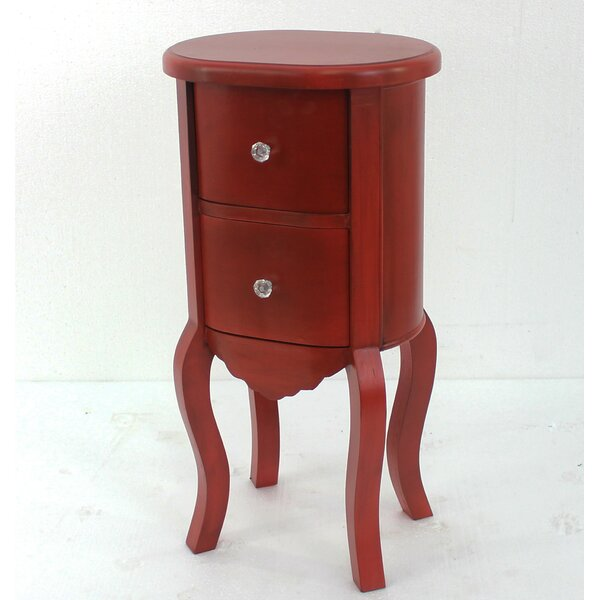 Jolien Funny Doll-Like End Table by One Allium Way