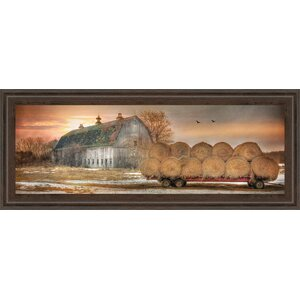 Sunset on the Farm by Lori Dieter Framed Painting Print by Classy Art Wholesalers