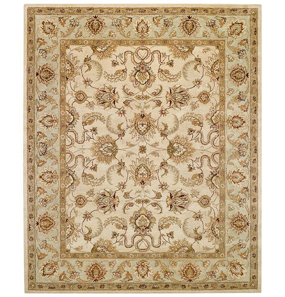 Monticello Beige/Spa Meshed Area Rug by Capel Rugs