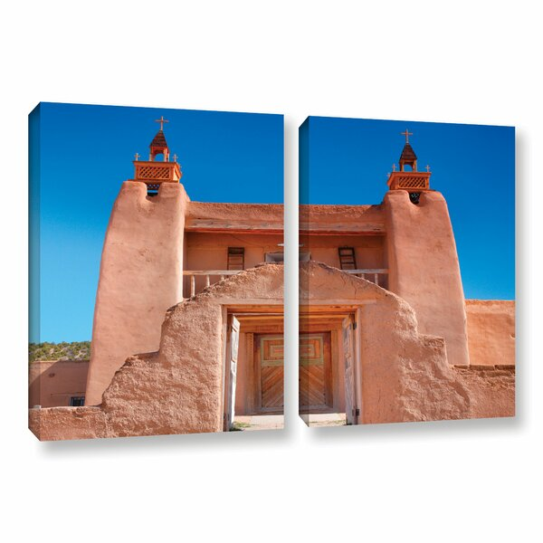 Gate To San Jose De Garci by Steve Ainsworth 2 Piece Photographic Print on Gallery Wrapped Canvas Set by ArtWall