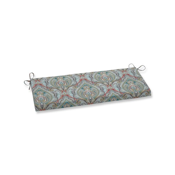 Pretty Witty Reef Indoor/Outdoor Bench Cushion by Astoria Grand