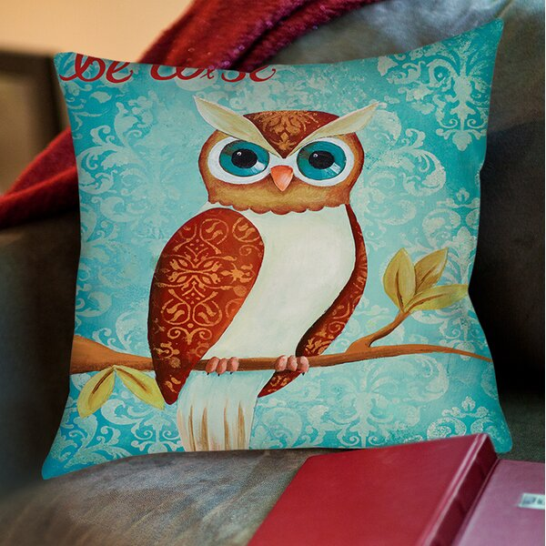 Bewise Printed Throw Pillow by Manual Woodworkers & Weavers