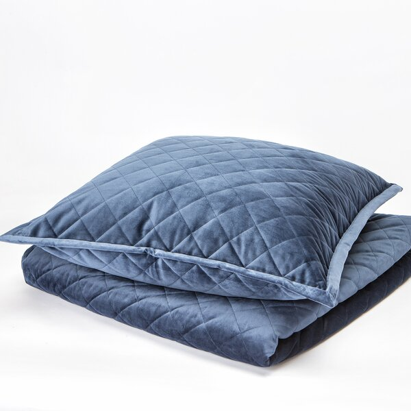 Velvet Coverlet Set