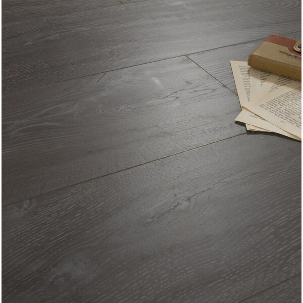 Legno 8 x 48 x 12mm Laminate Flooring in Padua Greige by Patina Design