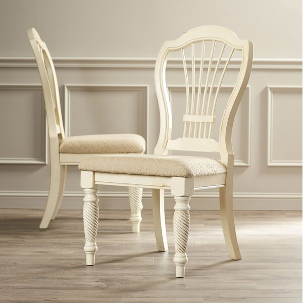 Halton Upholstered Dining Chair (Set of 2) by One Allium Way