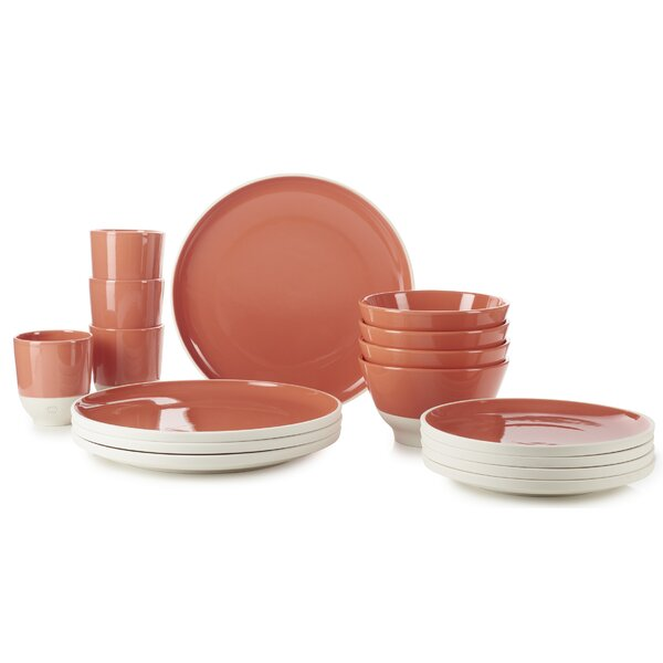 Color Lab 16 Piece Dinnerware Set, Service for 4 by Revol