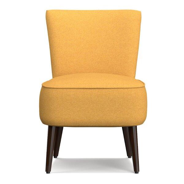 Cureton Blaylock Slipper Chair by Mercury Row